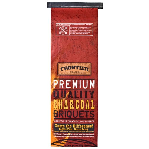 National Packaging Services 9 lbs Premium Quality Charcoal Briquets