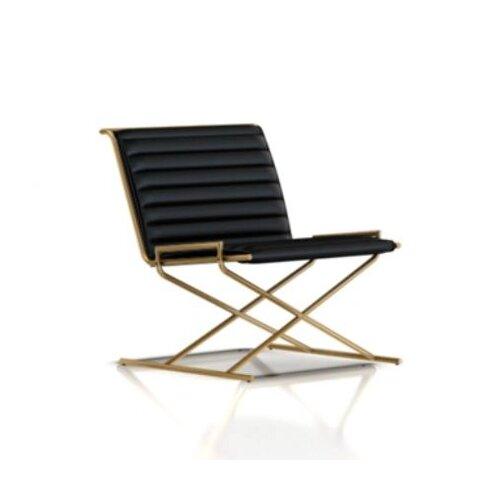 Herman Miller ® Geiger Leather Side Chair