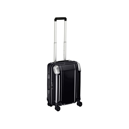 Geo Polycarbonate Carry On 4 Wheel Spinner Travel Case