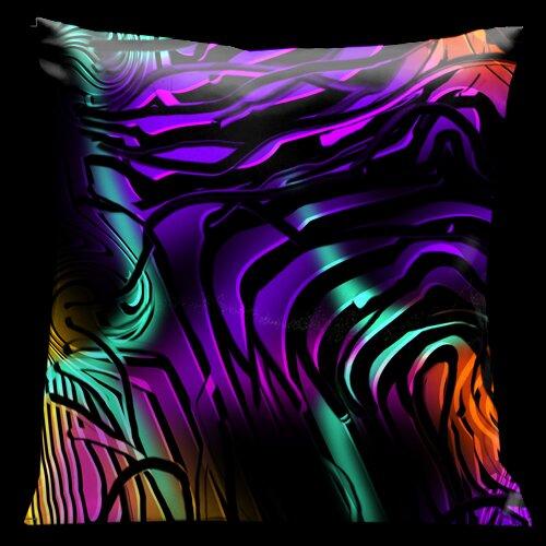 Contempo Square Satin Pillow