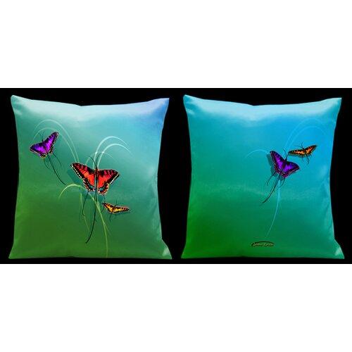 Lama Kasso Butterflies Pillow