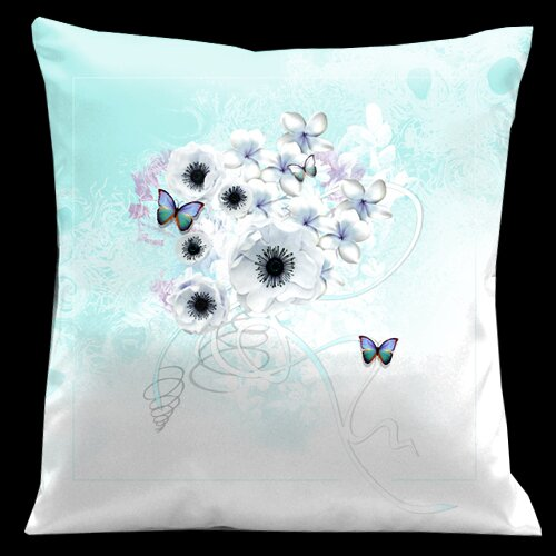 Butterflies Valentines Pillow