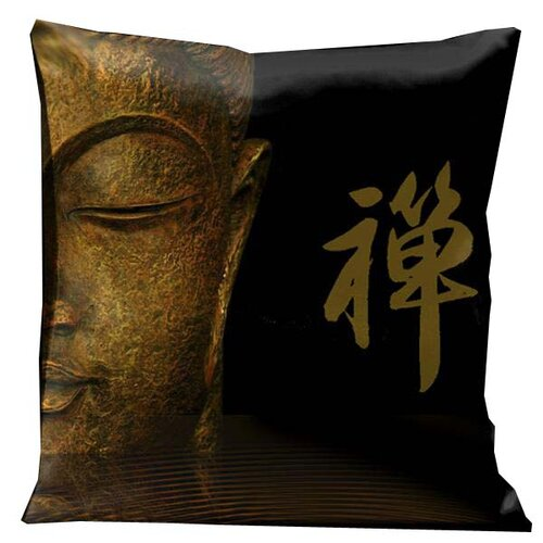 Zen Half Buddha Pillow