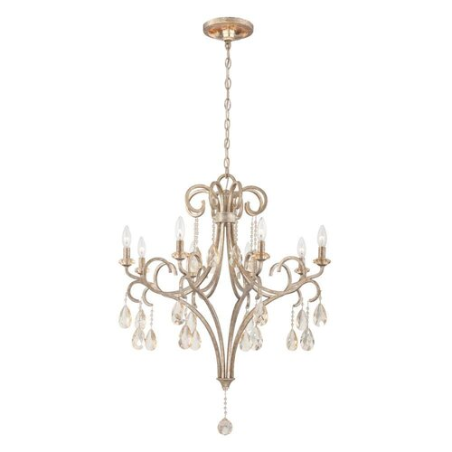 Caruso 8 Light Candle Chandelier