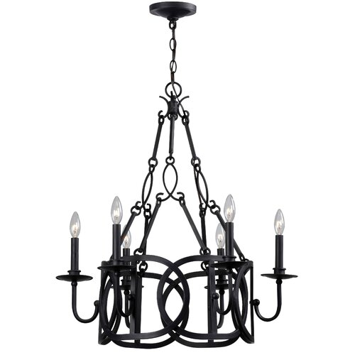 Bellingham 6 Light Candle Chandelier