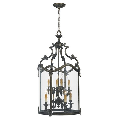 Venezia 8 Light Foyer Pendant