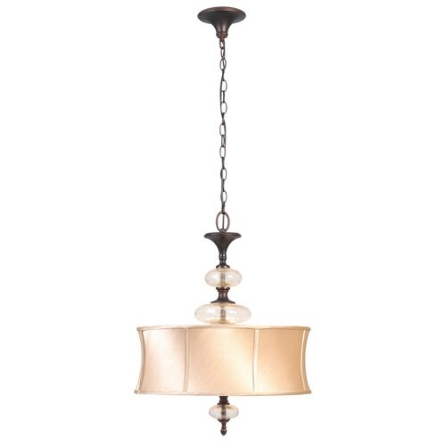 Chambord 3 Light Drum Foyer Pendant