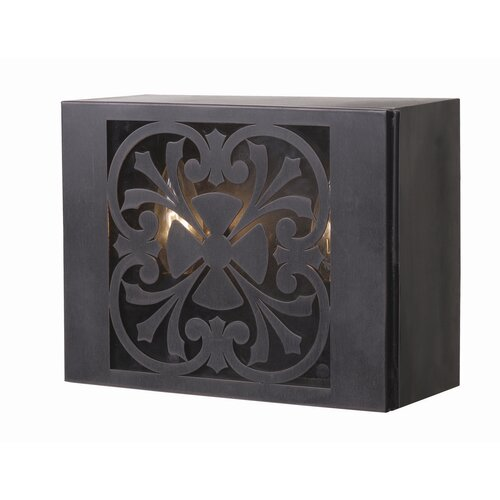 World Imports Sevilla 1 Light Outdoor Wall Sconce