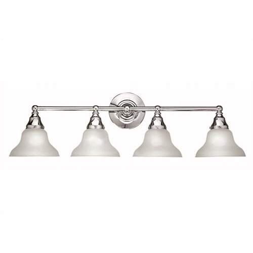 World Imports Bath 4 Light Bathroom Vanity Light