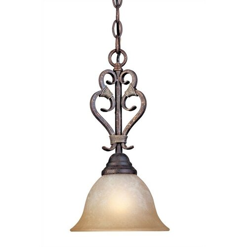 World Imports Olympus Tradition 1 Light Mini Pendant