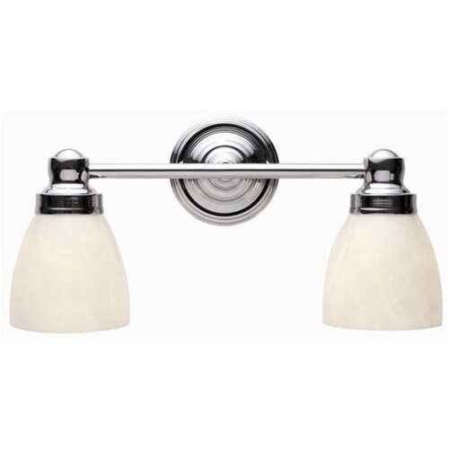 World Imports Bath Collection 2 Light Vanity Light