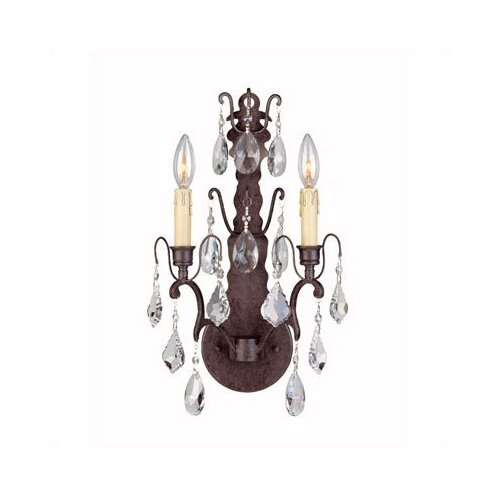 World Imports Timeless Elegance 2 Light Wall Sconce