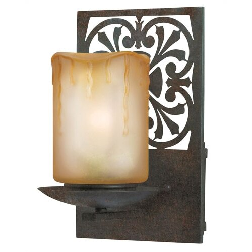 World Imports Adelaide 1 Light Outdoor Wall Sconce