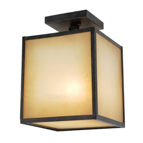 World Imports Hilden 1 Light Semi Flush Mount