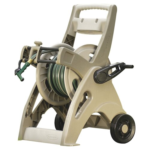 Resin Slide Trak Hosemobile Hose Reel Cart