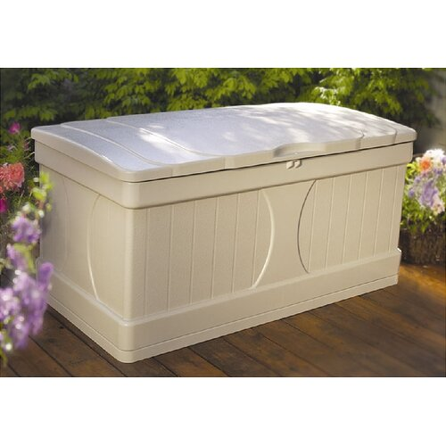 99 Gallon Deck Box in Light Taupe