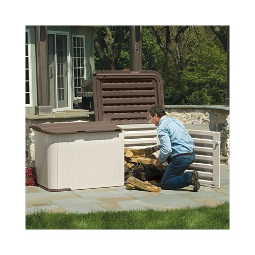 Suncast 7.5 ft. W x 3 ft. D Resin Tool Shed