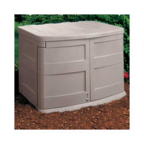 Suncast 4.5ft. W x 3ft. D Resin Tool Shed
