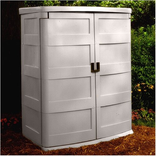 "Suncast 4'7"" W x 3'1"" D Resin Tool Shed"