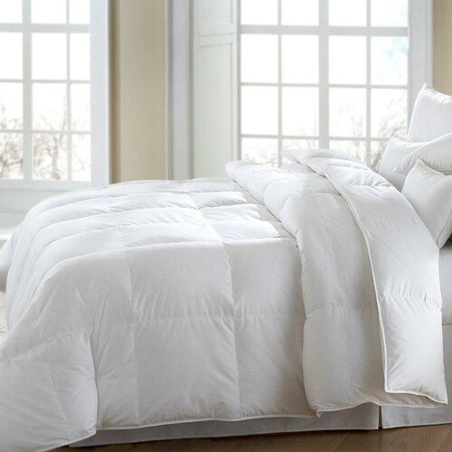 MACKENZA Soft White Down/White Feather Pillow