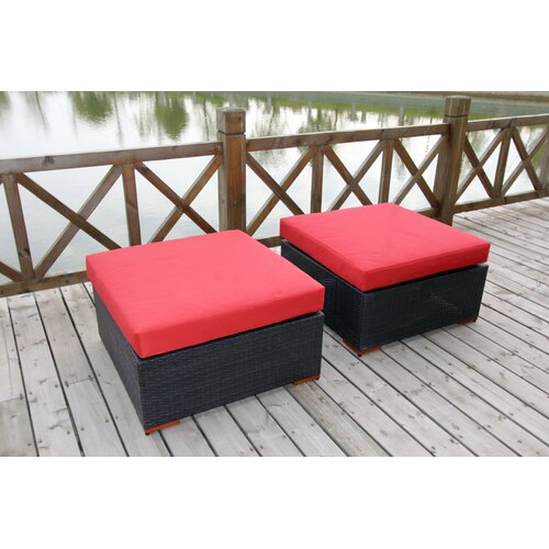 Pasadina Ottomans with Cushions (Set of 2)