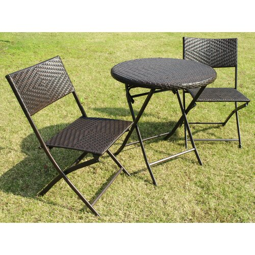 Pasadina 3 Piece Bistro Set