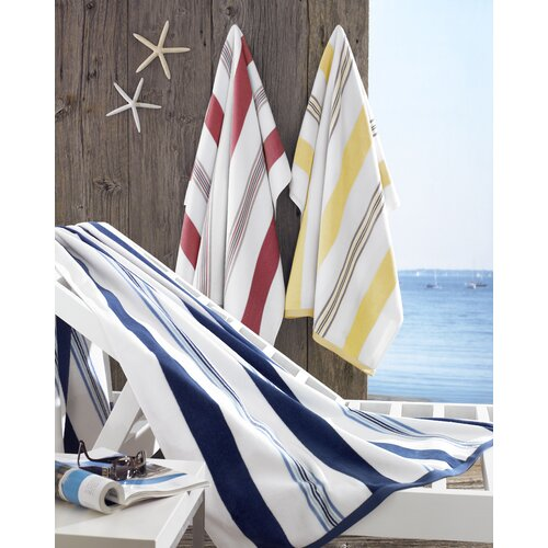 Kassatex Fine Linens Spiaggia Cabana Beach Towel