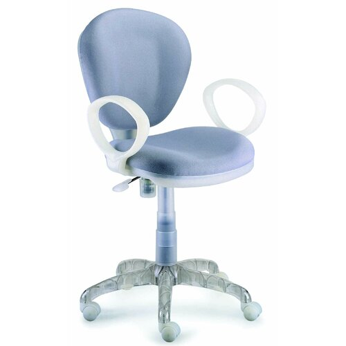 New Spec Inc I-Chair Mid-Back Task Chair with Arms