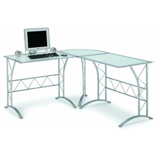 New Spec Inc Computer Workstation Writing Desk