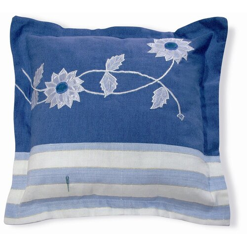 New Spec Inc Embroidery Flower Pillow