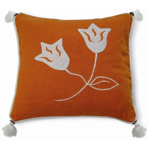 Embroidery Lily Pillow