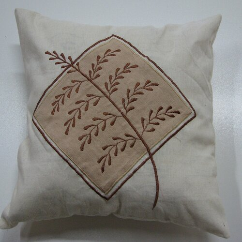 New Spec Inc Embroidery Grain Pillow