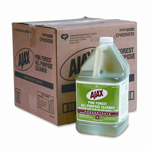 Ajax Pine Forest All-Purpose Cleaner, 1gal Bottle, 4/carton
