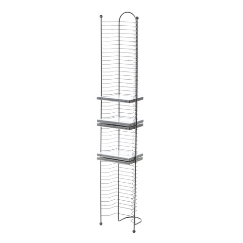 Atlantic 52 DVD/Blu Ray Multimedia Nestable Wire Rack