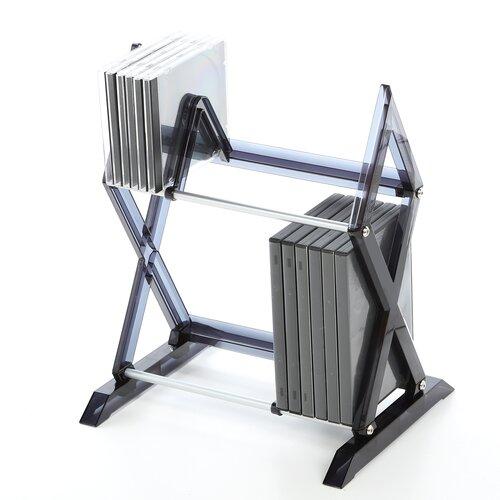Atlantic Mitsu 2 Tier Multimedia Tabletop Storage Rack