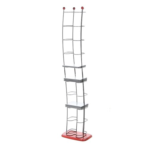 74 DVD Wave Multimedia Wire Rack