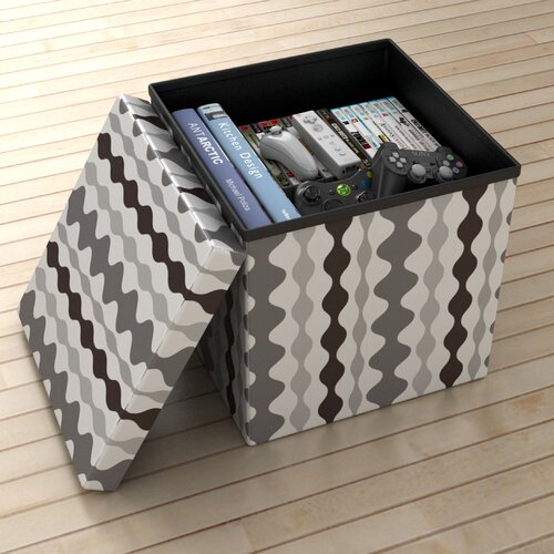 Atlantic Lava Storage Ottoman