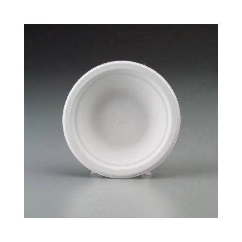 Chinet Round Classic White 16 oz Molded Fiber Bowls in White (4 Packs of 250 Bowls)