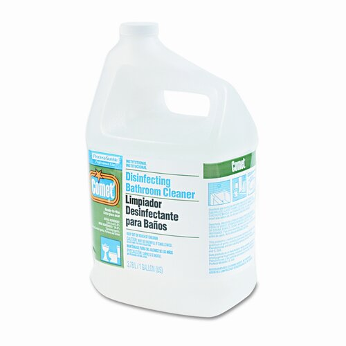 Procter & Gamble Commercial Comet Pro Line Disinfectant Bathroom Cleaner, 1 gal. Bottle