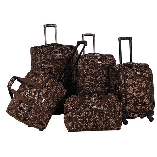 Swirl 5 Piece Luggage Set