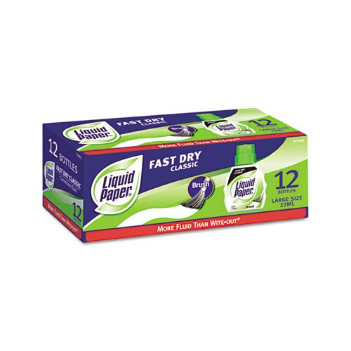Liquid Paper® Paper Mate Fast Dry Classic Correction Fluid