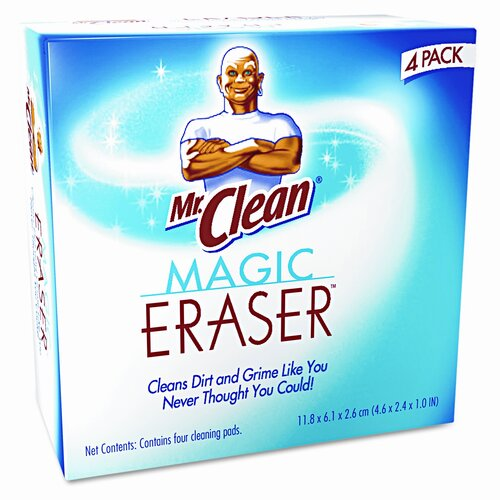 MR. CLEAN Magic Eraser Foam Pad, 4 Box