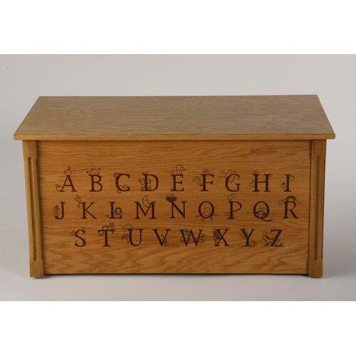 Wooden Alphabet Toy Box