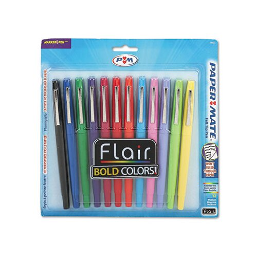 Paper Mate Flair Porous Medium Point Stick Pen