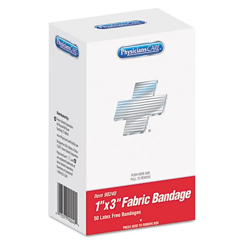 PhysiciansCare® Xpress First Aid Refill Kit of Bandages