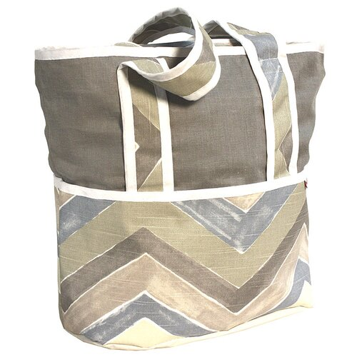 Hoohobbers Chevron Tote Diaper Bag