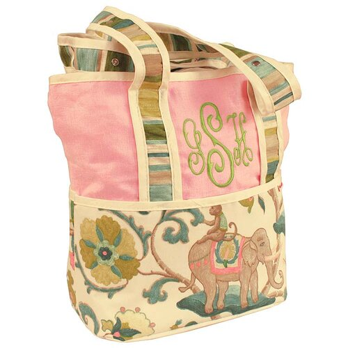 Cirque Pink Tote Diaper Bag