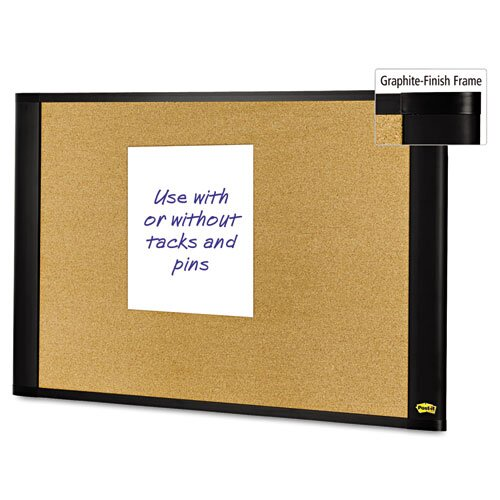 Post-it® Sticky Cork Bulletin Board
