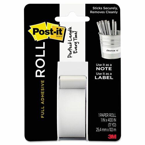 Post-it® Full Adhesive Label Roll