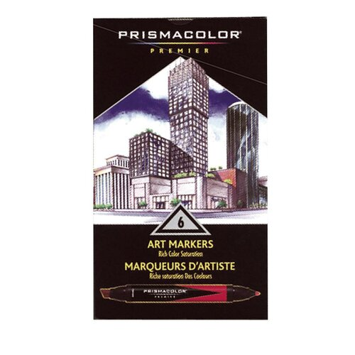 Prismacolor® Premier Art Marker Primary Set